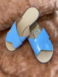 Rasteira azul serenity