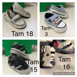 Sapatos de bebê - 8 pares