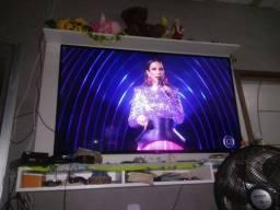 "Tv 55"" semi nova"