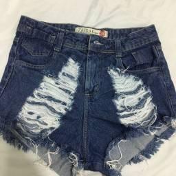 Short Jeans Feminino 38