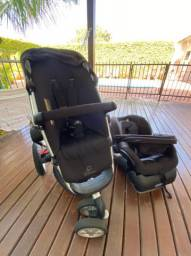 Quinny Buz com bebê conforto