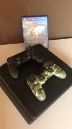 Vende-se PS4 1TB na caixa 2 Controles Originais