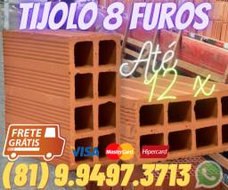 Tijolo , Fabrica Tijolo , 8 Furos , 8 Furos , Direto da Ceramica , Tijolo,Tijolo tijolo