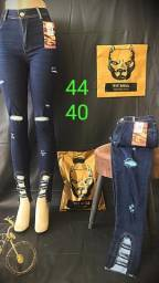 Calça jeans da pitbull 42 na promoção 150