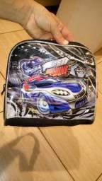 Lancheira/mochila para menino