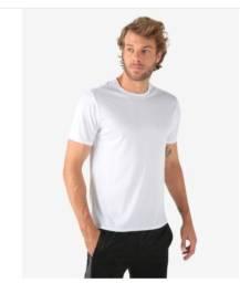 Camiseta Esportiva Lisa - Branco. Tamanho M. Nova, original e com etiqueta!