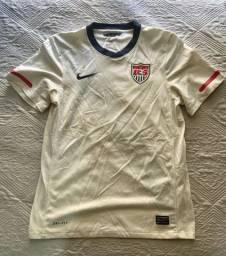 Camisa Oficial Nike P - Seleção Estados Unidos