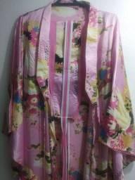 Título do anúncio: Kimono Yukata Tradicional Japonês - Fantasia/Cosplay