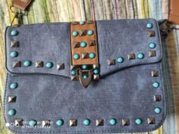 Bolsa carteiro Jeans