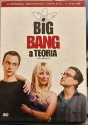 Big Bang A Teoria Dvd 1a Temporada.