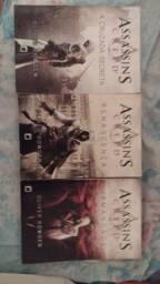 Trilogia assassins Creed livros