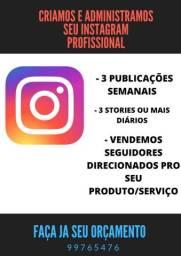 Instagram e facebook para empresas