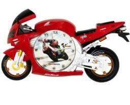 Relógio moto CBR porta retrato