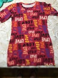 Camisao feminino