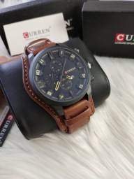 Relógio CURREN ORIGINAL**entrega grátis e rápida**