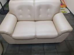 Conjunto de sofás reformados 2 e 3 lugares