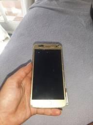 Moto G5 plus tela quebrada