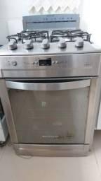Fogão a gás Brastemp Ative de embutir , 4 bocas ,com forno e acendedor elétrico.