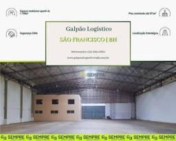 Título do anúncio: Galpão para alugar, 1.700 m² - São Francisco - Belo Horizonte/MG