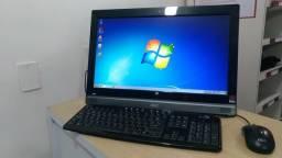 Oferta! Computador All in One AOC Evo Intel 4GB HD500GB Tela 19.5