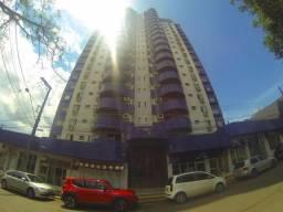 Apto no Ed. Torre azul com ampla suíte, 2 quartos - semimobililado