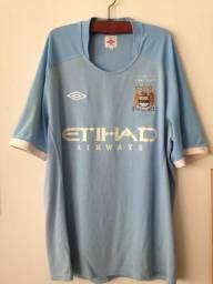 e74994633a Camisa Oficial Manchester City 2012 - Tam 42