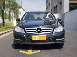 Mercedes-benz C-180 Sport Turbo 1.6 16V Gasolina- 13/14 - 2014