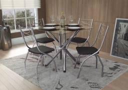 Sala de Jantar 04 Cadeiras 375 ZAP *