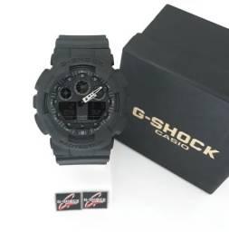 2d89e737788 Relógio G Shock Preto Ponteiro Branco Novo