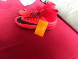 Chuteira de Campo Nike Mercurial Victory VI DF FG - Adulto c2823eb92b7b2