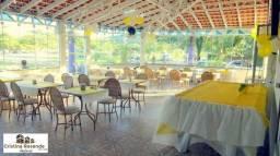 Hotel em funcionamento de frente para o mar em Maranduba/18 suites/recepção/