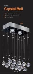 Lustre Cristal Ball Para Abrilhantar e Modernizar Qualquer Ambiente