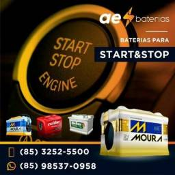 Oferta na bateria 72Ah Moura start stop para o creta