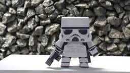 Stormtrooper Guarda Imperial Star Wars Papercraft Modelismo