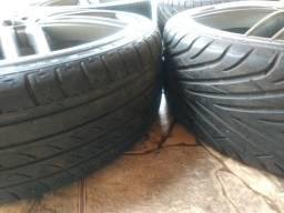 Vendo rodas aro 20 importada com pneus