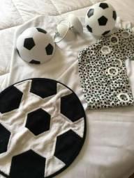 Desapego - Decoração de Quarto de Menino - Futebol- Faço na Cartão