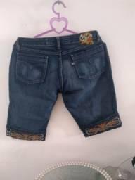 Shorte jeans semi novo