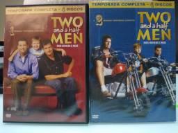 DVD's série Dois homens e meio - temporadas 1 e 2