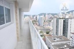 Apartamento com 3 dormitórios à venda, 140 m² por R$ 761.200,00 - Canto do Forte - Praia G