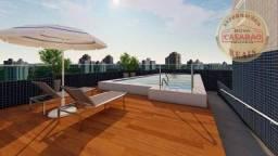 Apartamento com 1 dormitório à venda, 38 m² por R$ 165.000,00 - Vila Guilhermina - Praia G