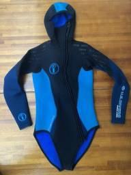 Roupa de mergulho feminina U.S.Divers Aqua-Lung 5 mm 2 peças Tamanho 2