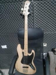 Jazz bass gianini 4 cordas série ae08b lind?o