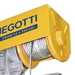 Guincho eletrico obras 300/600 kgs