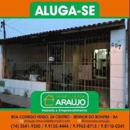 Aluga-se um Imóvel residencial no Bairro Populares