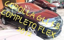Corolla GLI 1.8 Completo Flex 2012