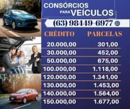 Consórcios para veículos - 2017