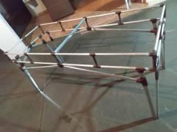 Base mesa alumínio