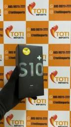 Samsung Galaxy S10+ - S10 Plus - 128Gb - Preto - Lacrado - Garantia