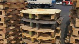 Paletes de Madeira Reforçados - Cap. 9 Ton. Geração de Aprox. 500 unidades - Mês. - #4811