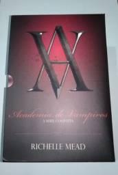 Box livros coleção academia de vampiros